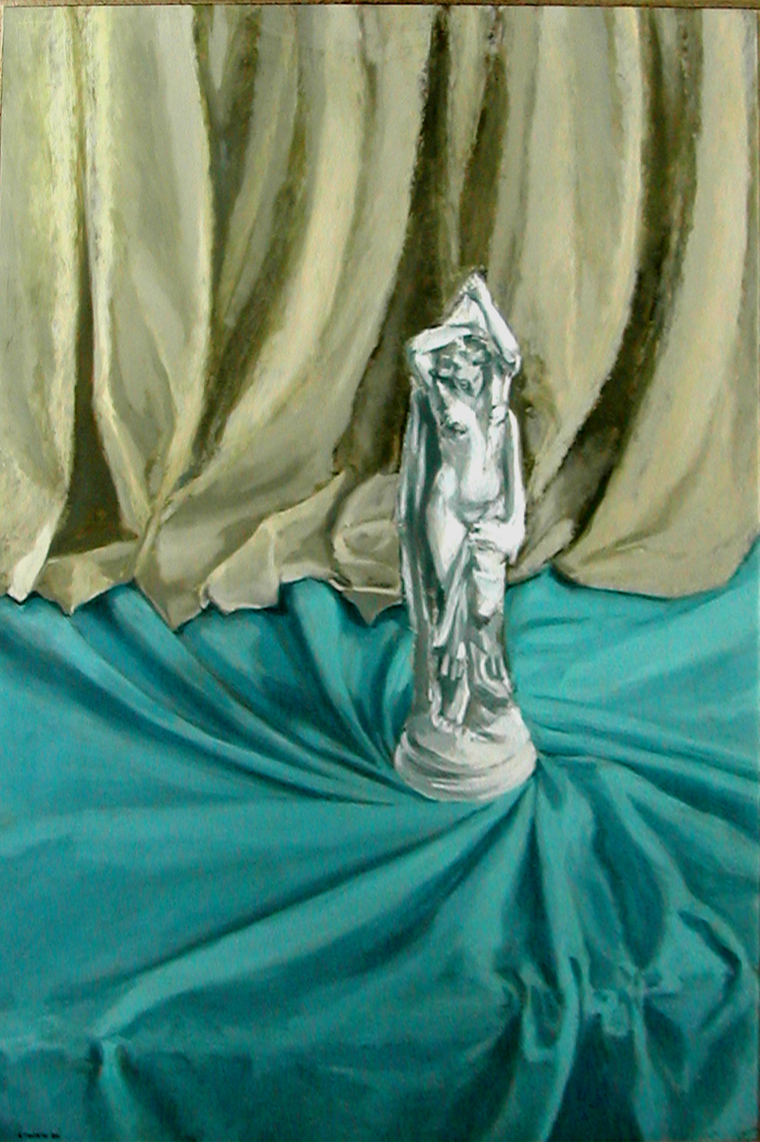 1989 ca Statuetta di porcellana