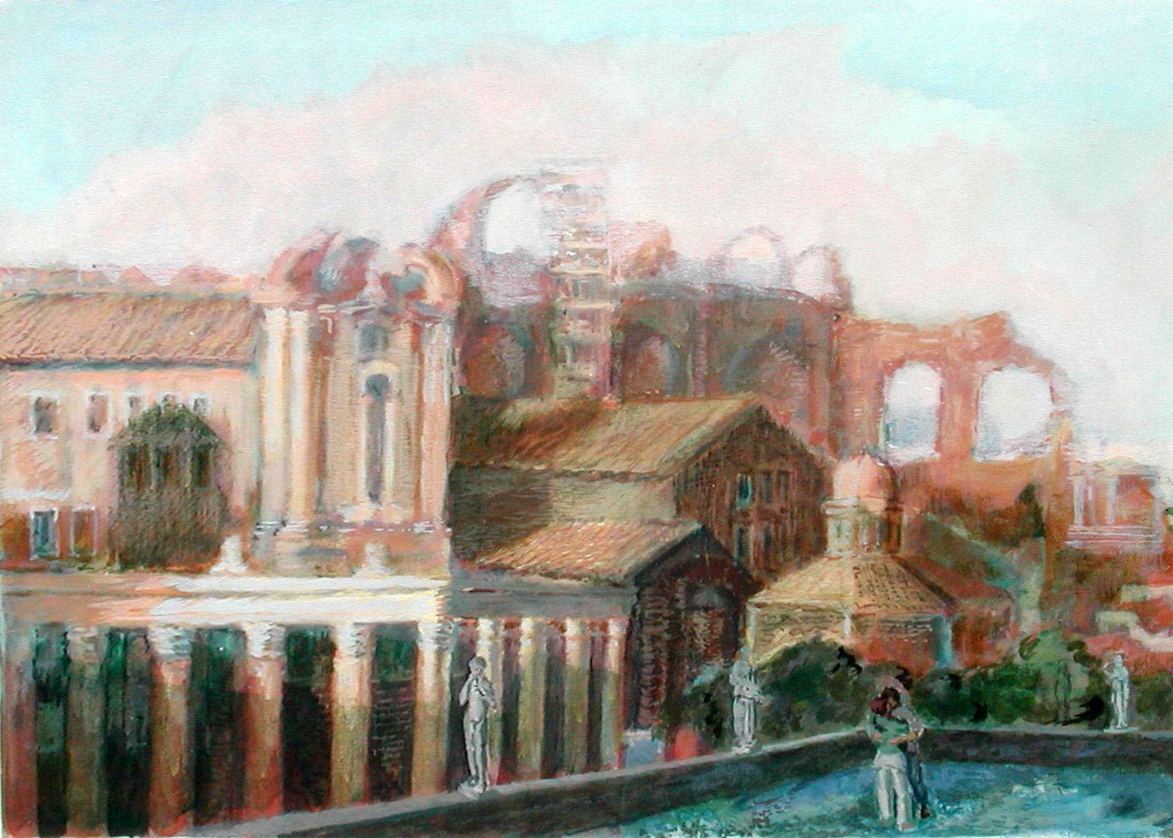 2002 Innamorati al Foro Romano