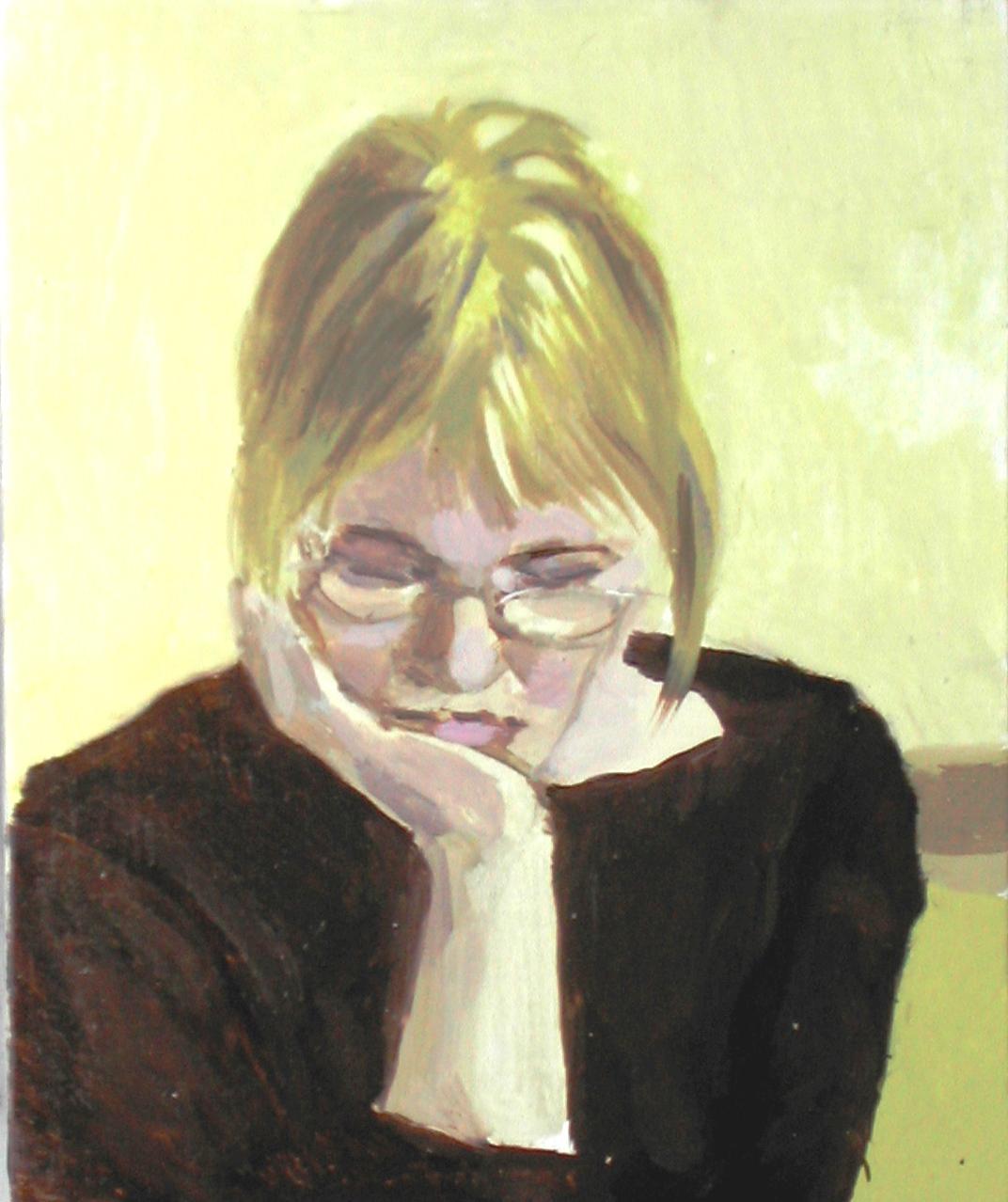 2003 Elena che legge