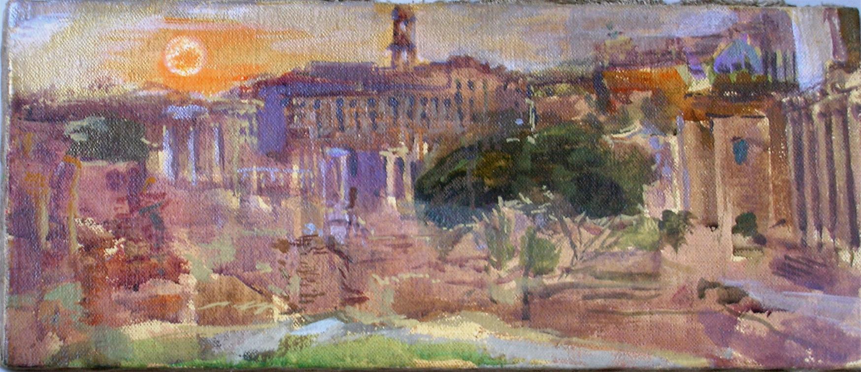 2010 Tramonto al Foro Romano