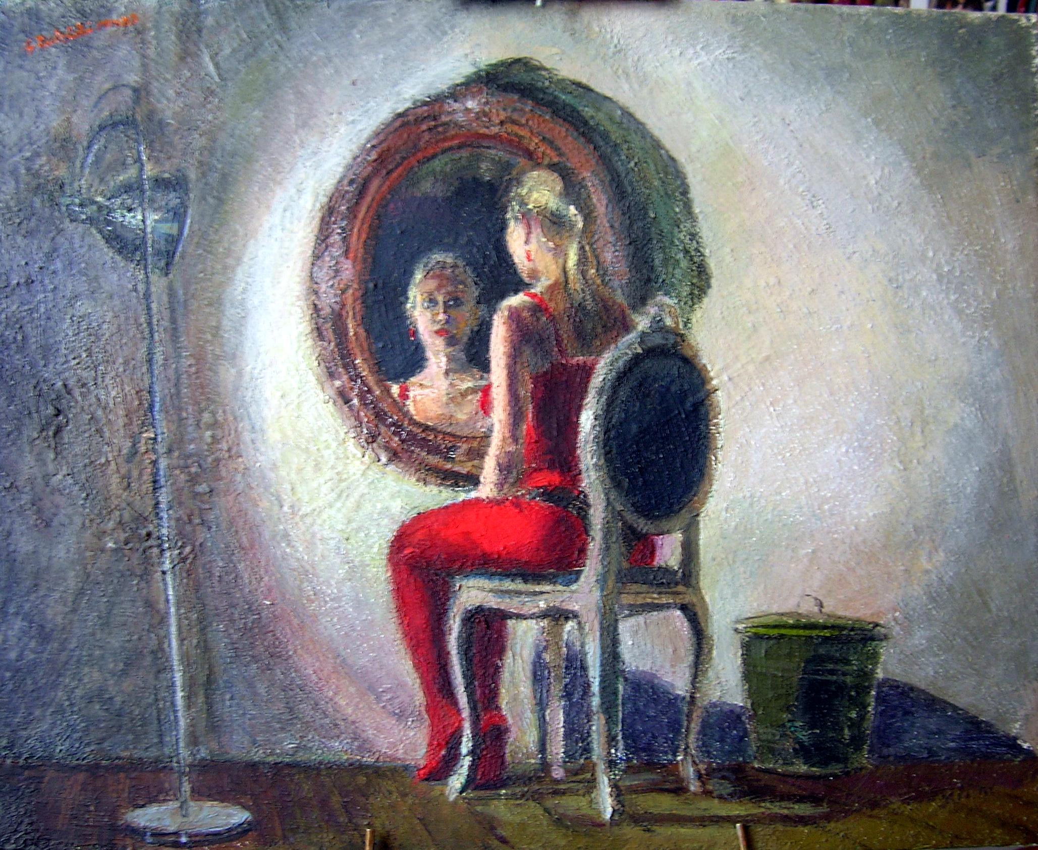 2011 Julia allo specchio