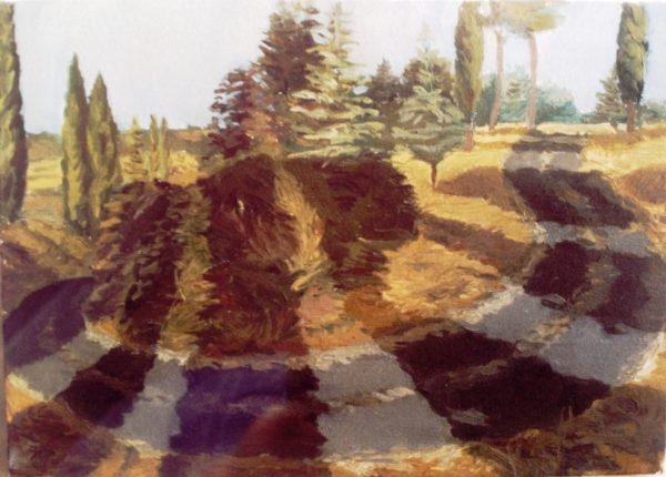1994 ca Curva al podere di Piero