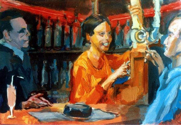 1997 ca Giulietta al pub