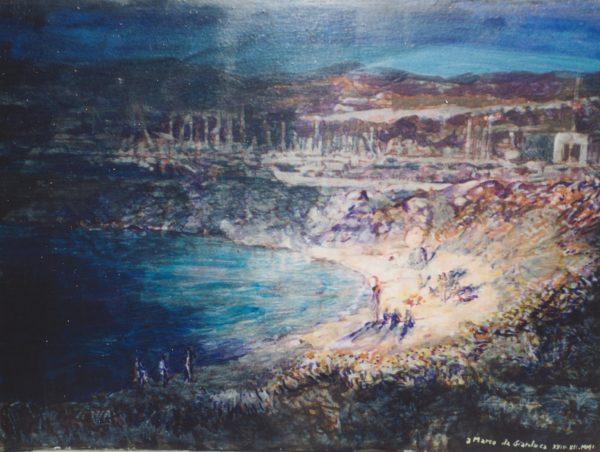 2001 Spiagga di notte