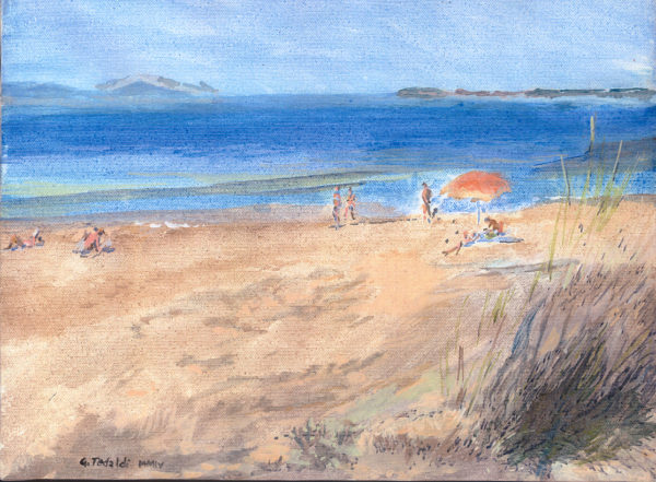 2004 Spiaggia a Carbonifera