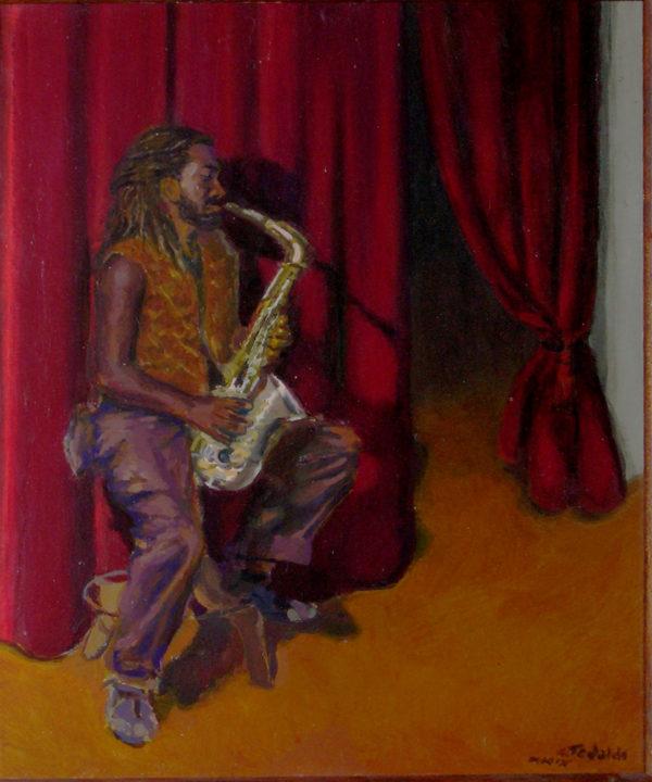 2009 Eyuel col sassofono
