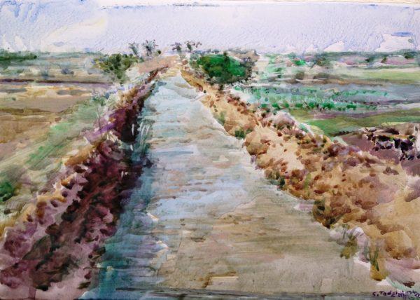 2017 Canale presso il Nilo