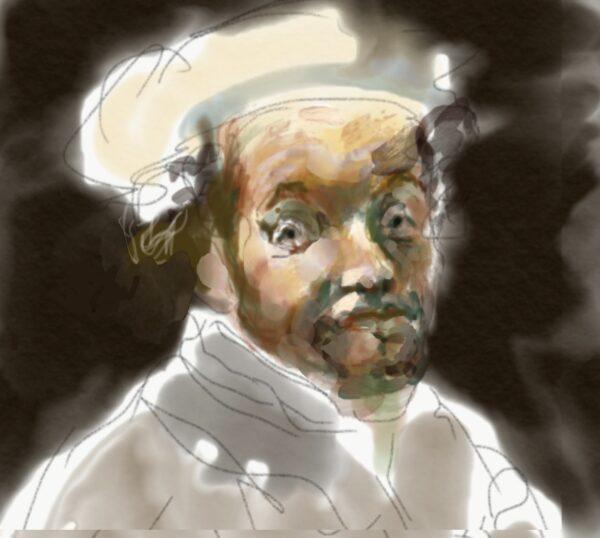 Da Rembrandt, autoritratto
