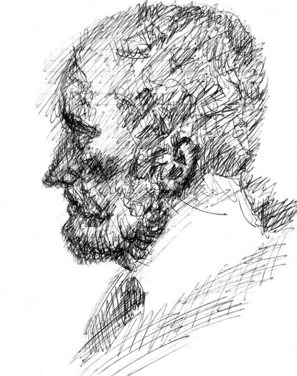 Testa di Antonio Pio